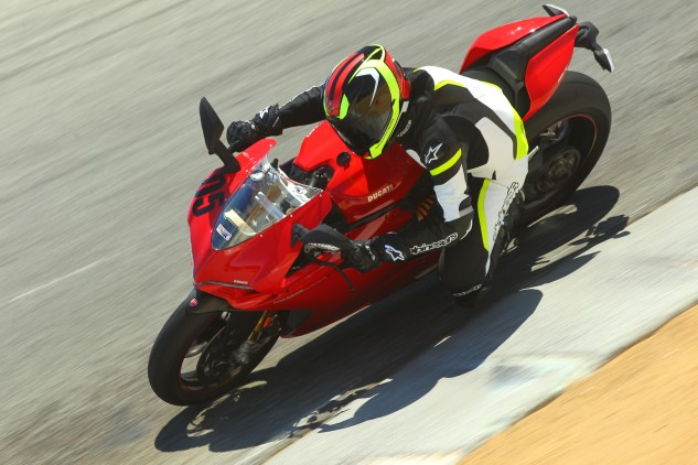 The Ducati 1299 Panigale S is a great bike, no doubt about it. But there's another Italian we liked even better.