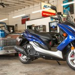 Highway Hopper Scooter Shootout Yamaha SMAX beauty