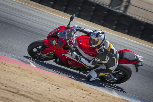 We were surprised to hear Chandler didn't mind the ride-by-wire throttle of the BMW. For as stoic as he is, that's about the highest praise BMW will get about its electronic throttle calibration.