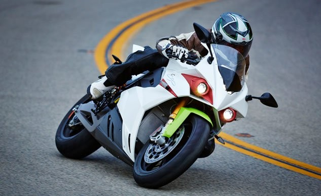 It seems to me like the day we can ride out to the fun roads on a bike like the Energica Ego (above), play all day, then ride back home on a single charge, will be a turning point for electrics. That combined with a significantly bolstered EV infrastructure could really change the game.