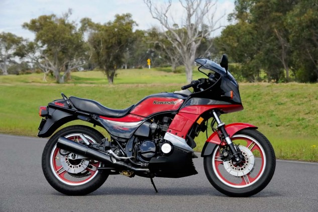 Released in 1983, Kawasaki's GPz750 Turbo smashed all but the Honda CX650 Turbo in top-speed performance.