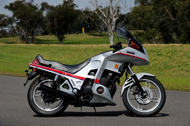 The Yamaha XJ650 was a bitsa made from a Seca chassis with a small turbo and CV carburetors. However, this allowed Yamaha to keep costs down and also made the XJ the most reliable of all Japanese turbo bikes of the era.