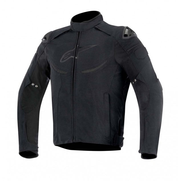 The Enforce jacket features a removable thermal liner and guaranteed waterproofing capabilities, plus race-derived shoulder protection. Colors: Black. Sizes: S-4XL. MSRP: $369.