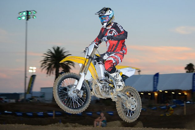 Yamaha invited us to sample the 2016 YZ250F during an afternoon/evening session at Perris Raceway in Southern California.