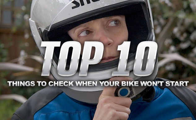 Top 10 Things To Check When Your Bike Won't Start