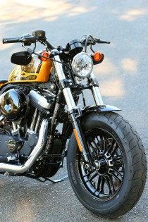2016 Harley-Davidson Forty-Eight Front End