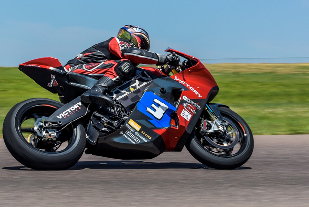 Keep your browser tuned to MO so you can see my ride report on the Victory electric bike that finished on the TT Zero podium at this year's Isle of Man races. I saw 145 mph on its speedo while testing at High Plains Raceway in Colorado. Photo by Todd Williams.