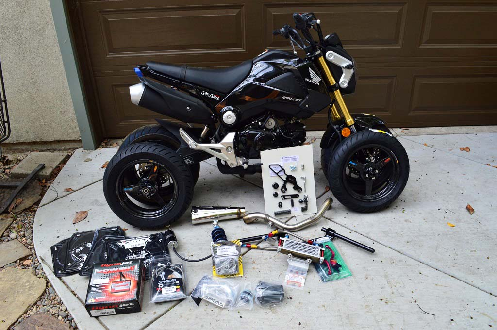 Top 10 Honda Grom Modifications