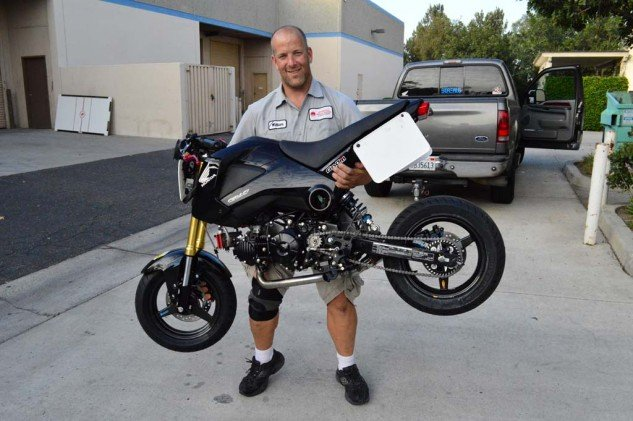 This is what you can do with a 187-pound motorcycle. Now it's time to go race it for 24 hours.