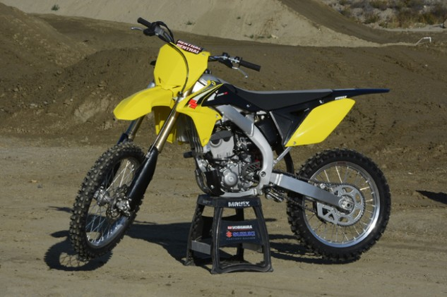 Suzuki's 2016 RM-Z250 may look nearly identical to the 2015, but with over 80 changes to the engine, a new launch control, a new chassis and all-new KYB suspension, it is a far cry from the old model.
