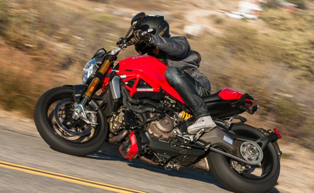 When push really does come to shove, you probably want the lighter, more powerful Ducati. I'd take this one over a Panigale any day. You?