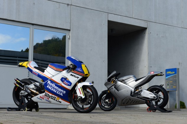 Suter intends to create a new racing series, World GP Bike Legends (WGBL), so that MMX500 owners can race their exotic machines or contract former GP riders. Apparently riders such as Spencer, Gardner, Kevin Schwantz, Loris Capirossi and Luca Cadalora have expressed interest.
