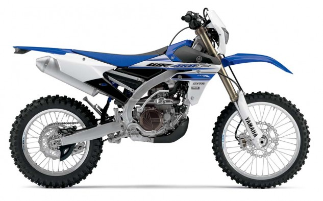 The WR450F is available now: $8,990.