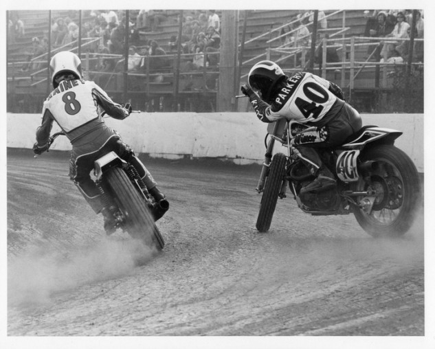 Wayne Rainey and Scott Parker, somewhere USA, circa 1978. (photographer unknown)