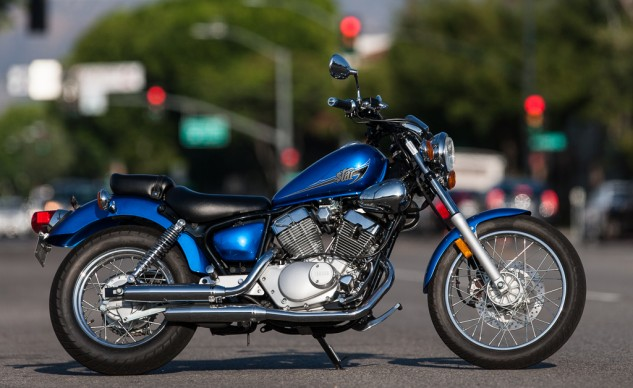 For a completely unassuming and unintimidating motorcycling experience fit for a new rider, the Star V Star 250 is our choice.