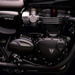 Triumph Bonneville T120 Black engine