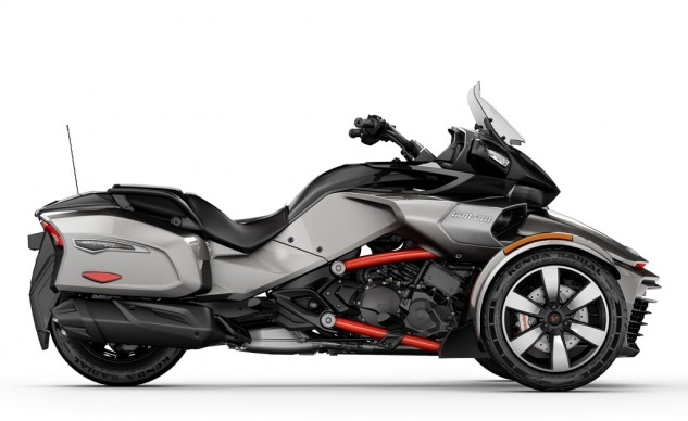 2016 Can-Am Spyder F3-T profile