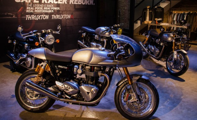 The Thruxton R Track Racer Inspiration Kit.