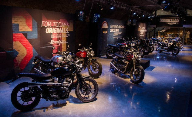 Five new Bonneville models plus Inspiration Kit examples means lots of eye candy for you and me.