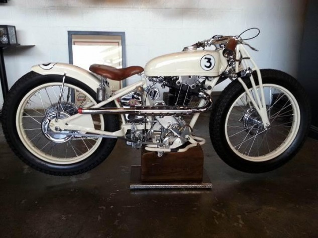 "One of only 11 such bikes, the 1932 ""Moto Ball"" 350cc single was produced by the French company Koehler Escoffier, founded in 1912 by Marcel Escoffier and Julius Koehler. K-E eventually built bikes of various displacements including the K35S 350cc, ""Super Standard"" powered by an OHV Chaise engine with overhead valves, circa 1929-1931. Winning many hillclimbs and rallies, the marque became famous in France, surviving until 1957."