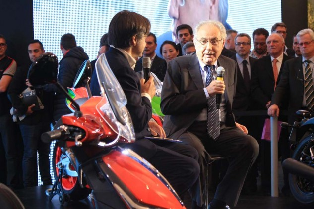 Roberto Colaninno, chairman and CEO of the Piaggio Group, discusses the future of Aprilia, Moto Guzzi, and Vespa. He notes that India – with 1.5 billion people, many of them young and potentially interested in motorbikes – is as an important market to Piaggio as the USA.