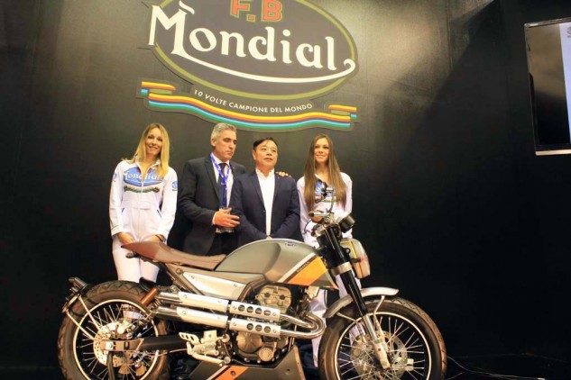 The re-emergence of Mondial was a surprise at EICMA. Also a surprise is the name given to the attractive 125cc and 250cc single-cylinder roadster: the Hipster. Ugh. Mondial claims it will debut three new bikes with different engines by 2023. We hope they'll have monickers more palatable than this one.