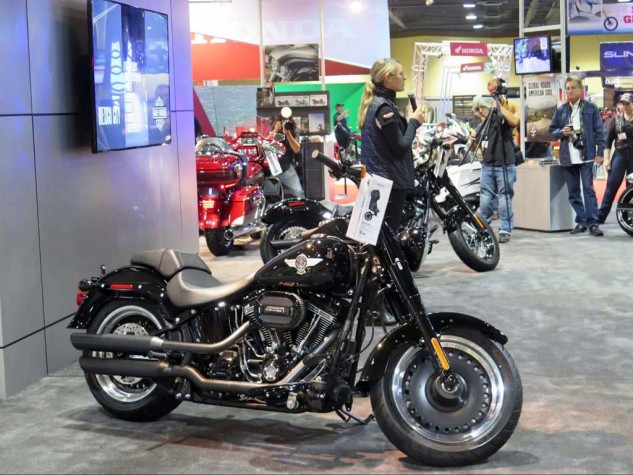 """Harley's got a couple of new """"S"""" models, that get the 110 engine, out of a line-up of 38 bikes."""