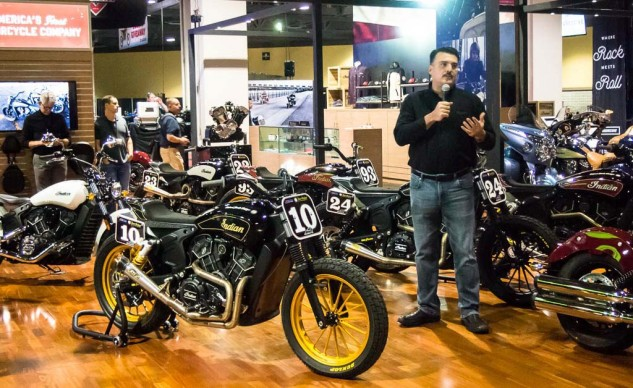 Polaris was already on a tear even before introducing the new $8,999 Scout Sixty. Polaris mastermind Steve Menneto, amid a sea of Roland Sands customs, was the man with the plan...