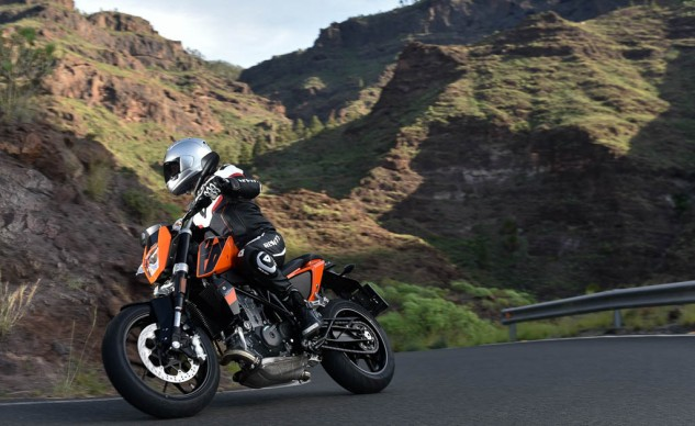 The 690 Duke has always been at home on tight, undulating roads, but its horizons have expanded to include highways.