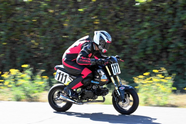 Despite her handling woes, at least our Grom was speedy in a straight line. For a Grom anyway.