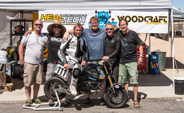 We were all smiles after completing 24 hours on our Project Honda Grom, but we knew there was untapped potential.
