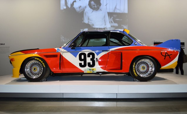As a fan of racing cars from the 1970s, the 1975 BMW 3.0 CSL Art Car is one of my favorites. This example, the first in the line of 17 BMW Art Cars, was painted by American artist Alexander Calder and raced in the 24-Hours of LeMans.