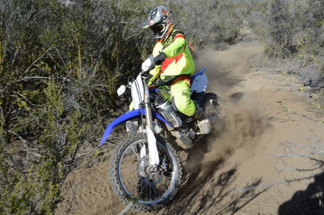 Some of the YZ's handling traits stunt the FX in the handling department. Its steering is light but not as precise as we'd like at slow speeds, and the front end is slightly nervous at high speeds.