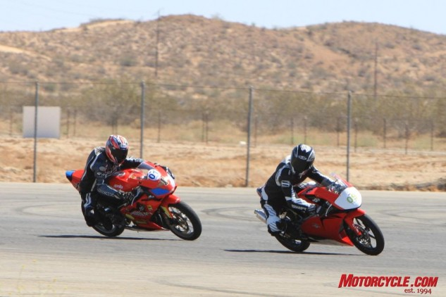 Chasing each other around the racetrack has rarely been this much fun.