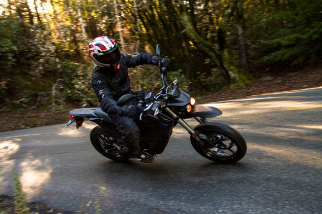 The FXS shares its brakes with its S and DS cousins that weigh over 100 lbs. more. On the FXS, that translates into being able to brake late with just one finger.