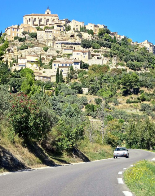And their peaks are often occupied by clustered villages like Les Baux-de-Provence, originally the site of a second-century Celtic fort.