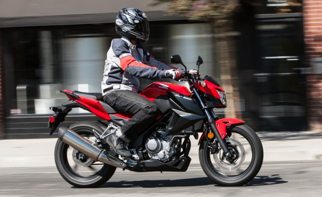 At $3,999, the Honda CB300F is the most affordable in our grouping, but lacks the pizzaz offered by most of the competition.