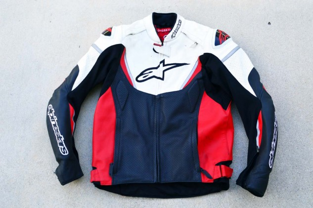 While not at the top of Alpinestars' sporty jacket offerings, the GP-R doesn't feel cheap by any means.