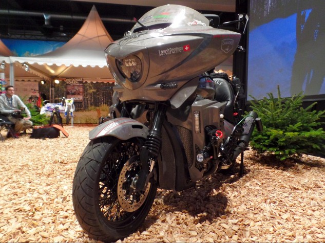 The Daytona1 features upgraded suspension and LED headlights to aid in night riding.