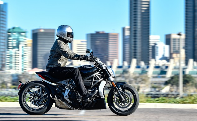 2016 Ducati XDiavel action