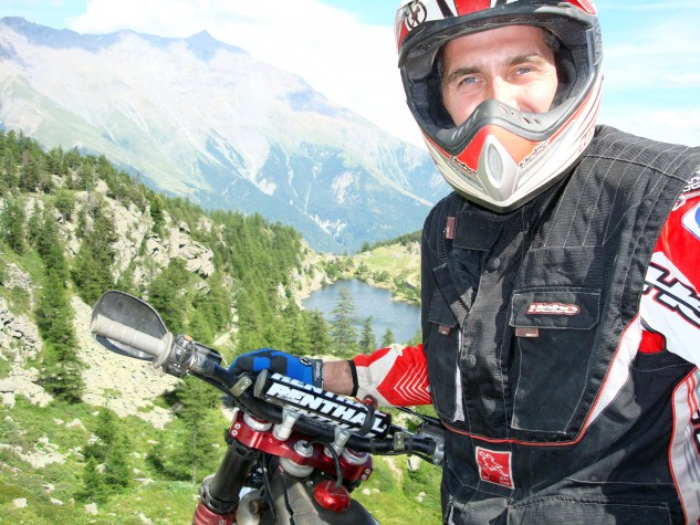 And when MX gets old, Gillen competes in a regional enduro series on his 350 KTM. Somewhere in the Alps…