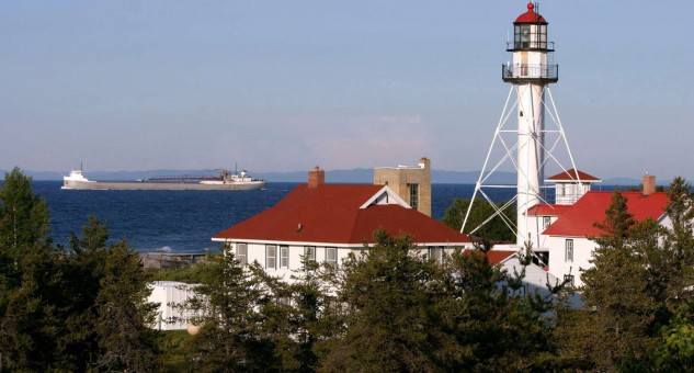 The Great Lakes Shipwreck Museum is in Whitefish Point, about 1000 miles east of Thunder Bay.