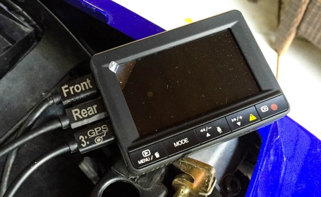 The K1's DVR measures 3.0 x 2.25 x .75 inches.