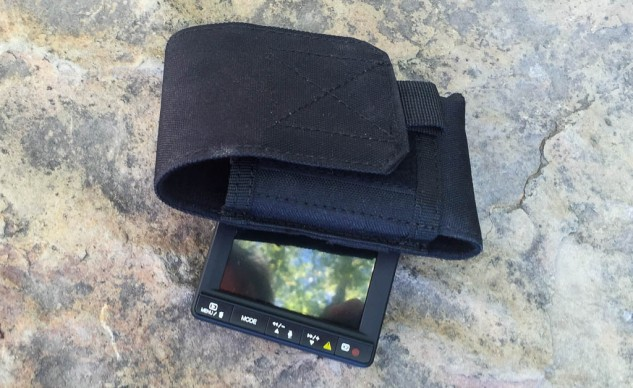The pouch protects the DVR from bouncing around and holds the wires in place, but don't expect it to keep out the water.