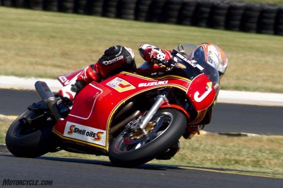032916-barry-sheene-festival-2016-McWilliams racing for real on the XR69 in the Barry Sheene Challenge