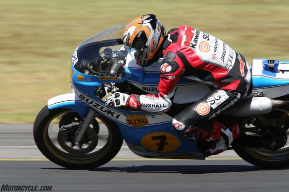 032916-barry-sheene-festival-2016-McWilliams was flying on the old RGB500