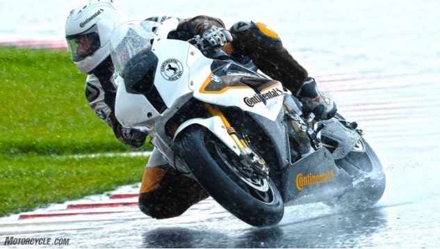 I'll take Malte's word for the increased wet grip, since he tested extensively at Germany's famed ContiDrom, as well as at Biltzer Berg, Assen and Uvalde, Texas.