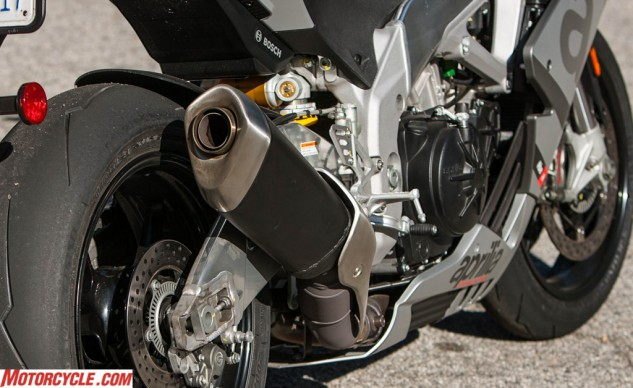 The sound that comes out of that exhaust is one of the most thrilling in all of motorcycling.
