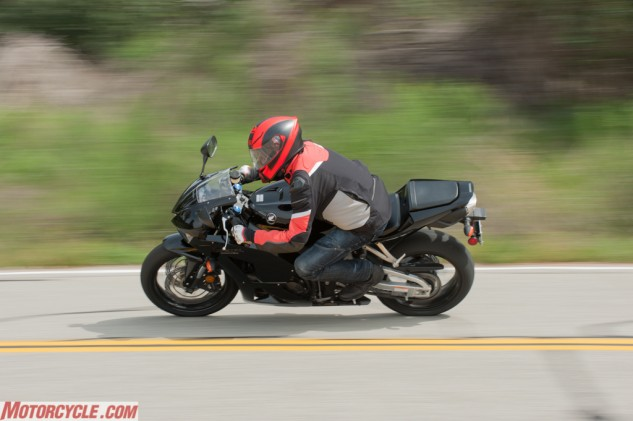 With a nimble chassis and usable power, the CBR's modest power belies what fun it can be on twisty roads.