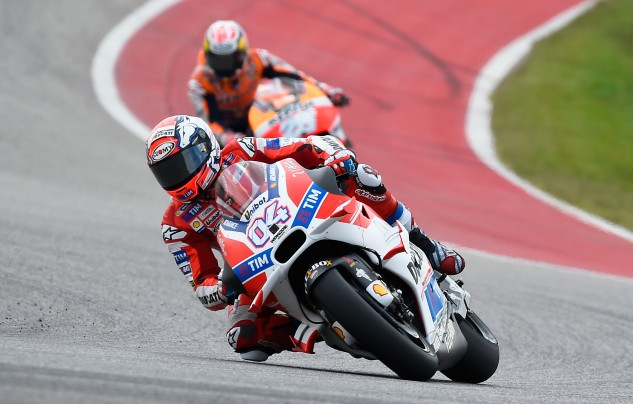 If the racing gods were fair, Andrea Dovizioso would have been on the podium instead of Andrea Iannone. Still, things could have been much worse.
